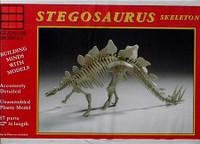 Stegosaurus Skeleton 1/25 Glencoe