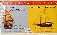 USS Constitution and Gertrude L Thebaud Glencoe
