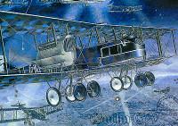 Gotha G.V WWI Bomber Night Raider 1/72 Roden