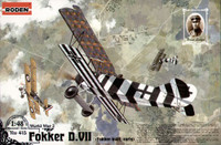 Fokker D VII WW1 Early 1/48 Roden