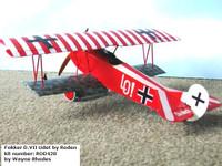 Fokker D.VII 1/48 OAW Early Roden