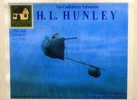 Hunley Confederate Submarine by Cottage Industries