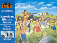 Sioux Indian Figures American History Figures Set 1/72 Imex