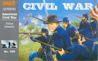 Union Infantry Civil War Set 1/32 Imex