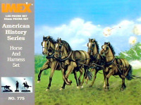 Union Horses & Harness Civil War Set 1/32 Imex