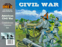 Confederate 10Lb. Cannon & Figures 1/32 Imex