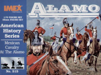 Mexican Cavalry Alamo American History Figures Set 1/72 Imex