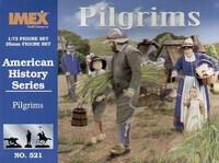 Pilgrims 43 Figures 3 Each Turkeys & Goats 1/72 Imex