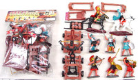 Alexander the Great Warriors & Armor Playset (8 Warriors, 2 Horses, Catapult, Ballista, & Access.) (Bagged) Playsets