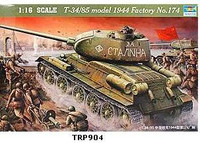 T-34/85 Model 1944 Factory No 174 1/16 Trumpeter