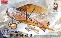 Albatross D.III 1/72 by Roden