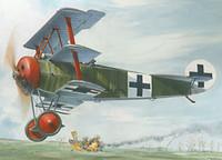 Fokker Dr.1 1/32 Roden