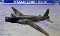 British Wellington Bomber MK III 1/48 Trumpeter