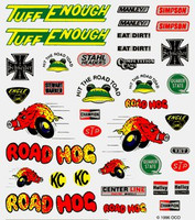 Off Road Dry Transfer Decals Pinecar