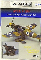 Avia S199 Detail Set (For HCF) 1/48 Aires