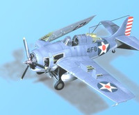 F4F-4 Wildcat Detail Set (For TAM) 1/48 Aires