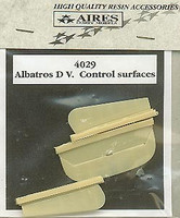 Albatros D V Flaps (For EDU) (Resin Only) 1/48 Aires