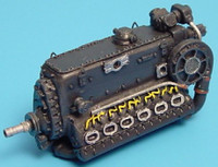 Daimler Benz DB601B Engine 1/48 Aires