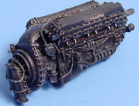 Rolls Royce Merlin Mk 11 Engine 1/48 Aires