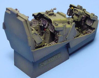 AH-64D Longbow Apache Helicopter Cockpit Set (for Has) 1/48 Aires