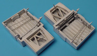 A-1H Skyraider Wheel Bay (For Tamiya) (Resin Only) 1/48 Aires