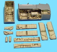 A-7 Corsair II Wheel Bay (for Hasegawa) 1/48 Aires