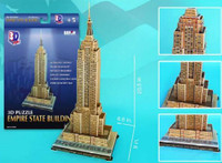 Empire State Building 3D Paper Model