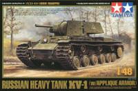 KV1 Heavy Tank w/Applique Armor 1/48 Tamiya