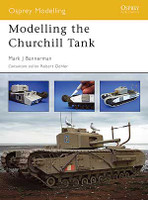 Modelling the Churchill Tank by Osprey