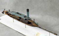 David Confederate Torpedo Boat Civil War 1/32 Cottage Industries