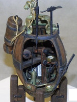 David Bushnells Turtle Submarine American Revolutionary War 1/32 Cottage Industries