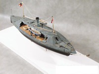 CSS Palmetto State Confederate Ship of Ironclads 1/96 Cottage Industries