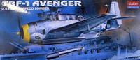 TBF-1 Avenger 1/72 Academy