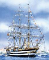 Amerigo Vespucci Sailing Ship Heller