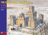 Medieval Castle XII-XV Century w/High Towers 1/72 Miniart