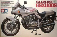Suzuki GSX1100S Katana Motorcycle Tamiya