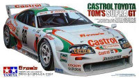 Castrol Toyota Toms Supra GT Sports Car 1/24 Tamiya