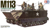 M-113 US Army Armoured Personnel Carrier Tank w/Soldiers 1/35 Tamiya