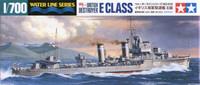 British E Class Destroyer Waterline 1/700 Tamiya