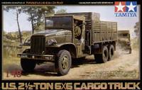 2-5-Ton 6x6 Cargo Truck 1/48 Tamiya