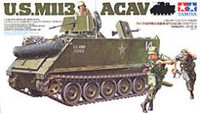 M-113 Armored Cavalry Assault Vehicle w/Figures 1/35 Tamiya