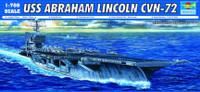 USS Abraham Lincoln CVN72 Aircraft Carrier 1/700 Trumpeter