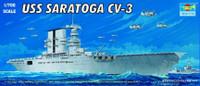 USS Saratoga CV3 Aircraft Carrier 1/700 Trumpeter