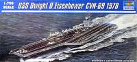 USS Dwight D. Eisenhower CVN69 Aircraft Carrier 1978 1/700 Trumpeter