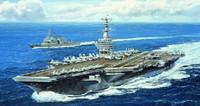 USS Nimitz CVN68 Aircraft Carrier 2005 1/700 Trumpeter