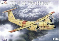 C-115 Buffalo (DHC5) Canadian AF Transport Aircraft 1/144 A-Models