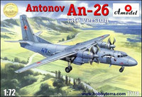 Antonov An26 Late Version Russian Military Cargo Plane 1/72 A-Models