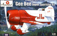 Gee Bee Super Sportster R1 Aircraft 1/72 A-Models
