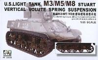 M-3/M5/M8 Stuart Light Tank Vertical Volute Spring Suspension 1/35 AFV Club