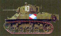 M-3A3 Stuart Light Tank (w/Photo-Etched) 1/35 AFV Club